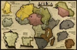 Conflict Africa Map Image