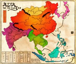 Far East Asia Map Image