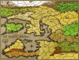 The Twelve Domains Map Image