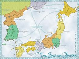 Sea Of Japan Map Image