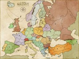 Europe Massive Map Image