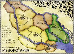 Mesopotamia Map Image