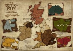 The British Isles Map Image