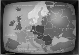 Cold War Europe Map Image