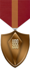 Unique Defeated Opponents 200 Medal Image