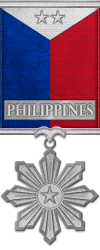 Map - Philippines - Silver Medal Image