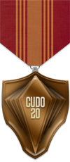 UDO - Consecutive - Bronze Medal Image