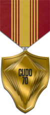 UDO - Consecutive - Gold Medal Image