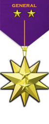 Rank - Executive General Medal Image