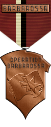 Map - Barbarossa - Bronze Medal Image