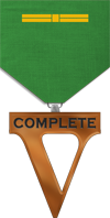5 Completed Games Medal Image