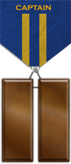 Rank - Captain Medal Image