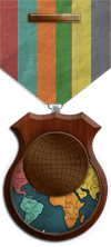 Map - Evolved - Bronze Medal Image