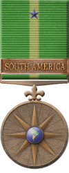 Map - South America - Bronze Medal Image