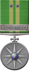 Map - South America - Silver Medal Image