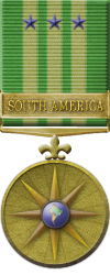 Map - South America - Gold Medal Image