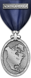 Map - North America - Silver Medal Image