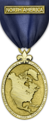 Map - North America - Gold Medal Image