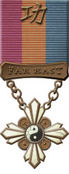 Map - Far East Asia - Bronze Medal Image