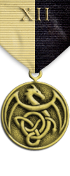 Map - Twelve Domains - Gold Medal Image