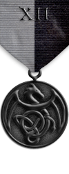 Map - Twelve Domains - Onyx Medal Image