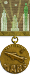 Map - Mars - Bronze Medal Image