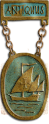 Map - Antiquus - Bronze Medal Image
