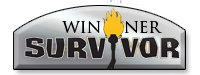 Survivor Winner Service Award Image